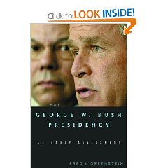 Really enjoying this very considered analysis of Dubya and his presidency, some distance from Worse Than Watergate, which I've just finished and was surprised at its tabloid tone. Published in 2003, this collection of essays is incredibly prescient as to the manner in which US foreign policy played out, and offers some insight into the reasons for this.
