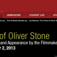 Paper accepted at Rider University for The Films of Oliver Stone with Stone/Dubya: The Improbable President.